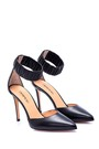 5638051301 Kadın Deri Topuklu Ayakkabı
