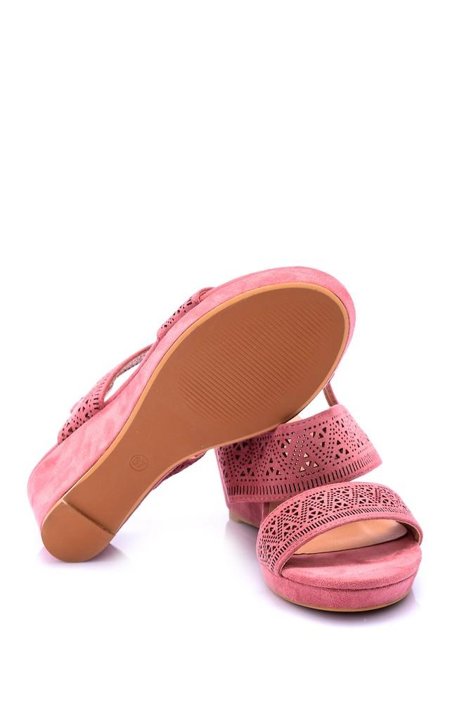 5638066609 Kadın Dolgu Topuklu Sandalet