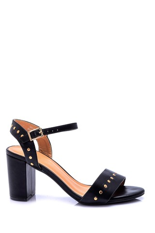 Kadın Zımba Detaylı Topuklu Ayakkabı