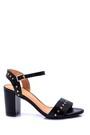 5638019565 Kadın Zımba Detaylı Topuklu Ayakkabı