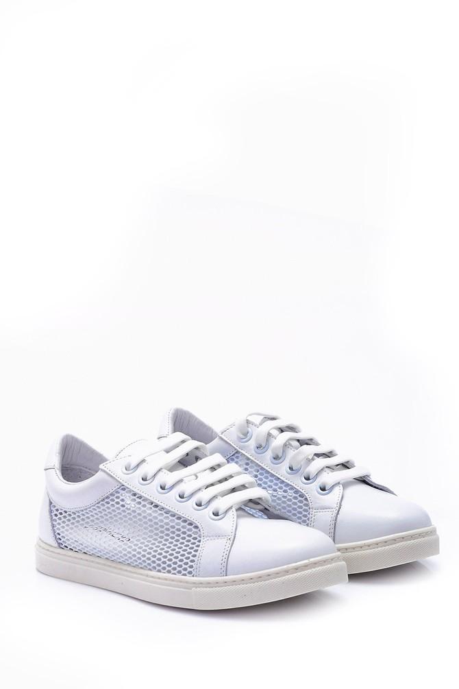 5638060889 Kadın File Detaylı Sneaker