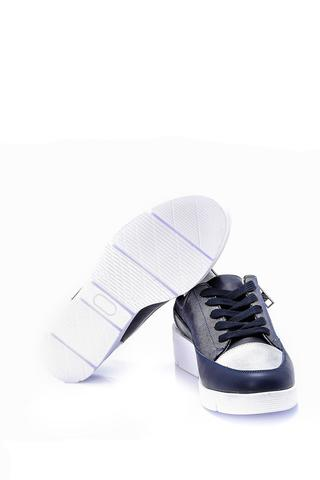 Kadın Fermuar Detaylı Sneaker