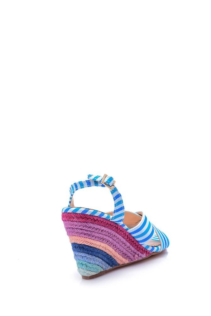 5638045375 Kadın Dolgu Topuklu Ayakkabı