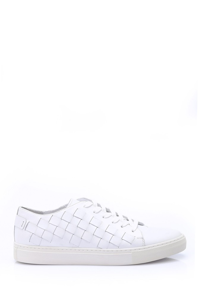 Beyaz Erkek Sneaker 5638028564