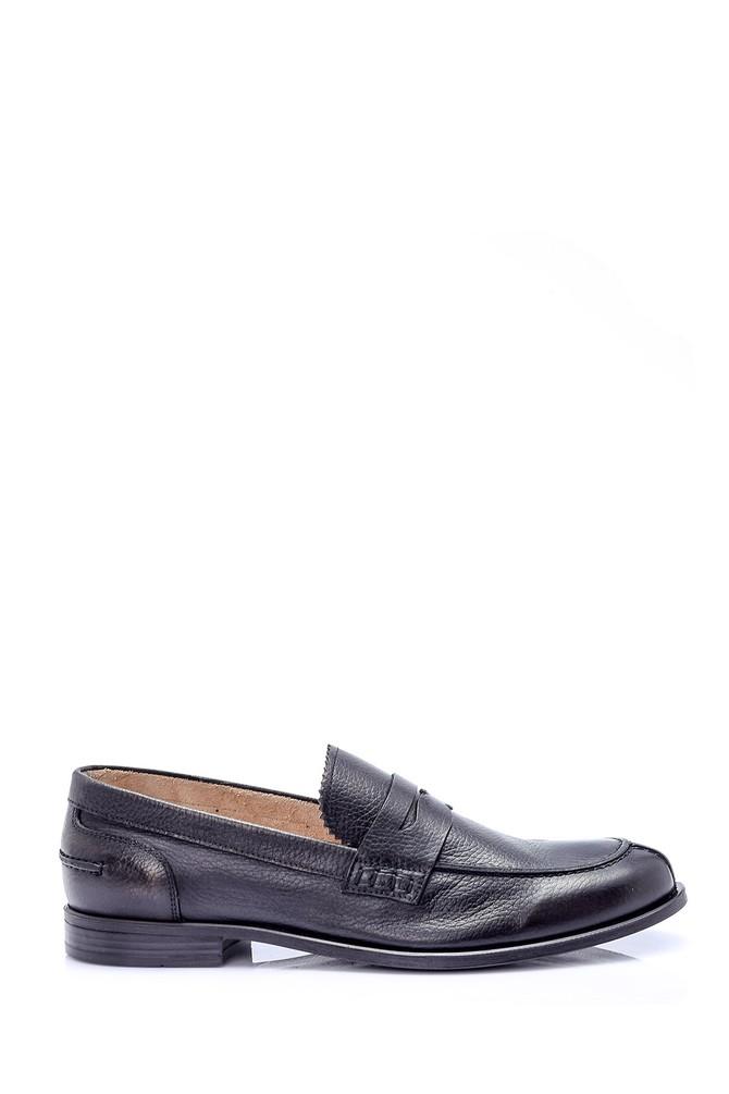 Siyah Erkek Deri Ayakkabı 5638037112