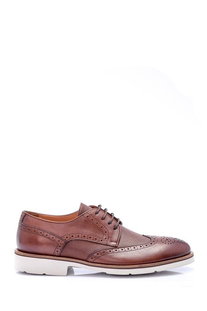 Kahverengi Erkek Deri Ayakkabı 5638037154