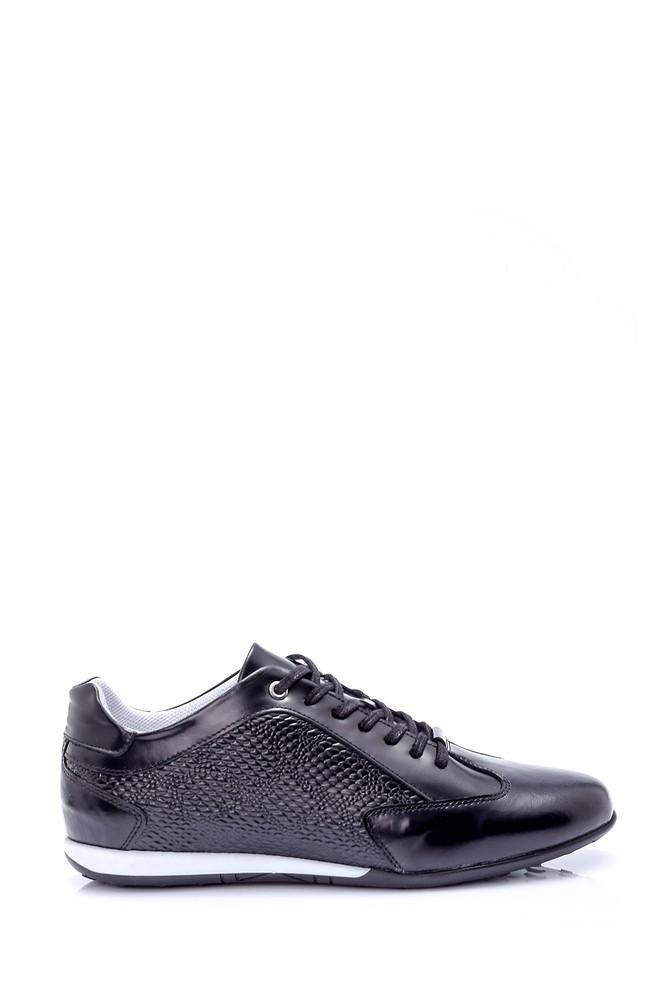 5638008973 Erkek Kroko Desenli Ayakkabı