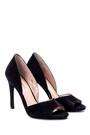 5638039084 Kadın Süet Topuklu Ayakkabı