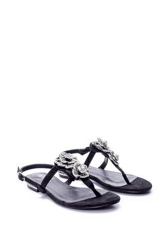 Kadın Çiçek Detaylı Sandalet