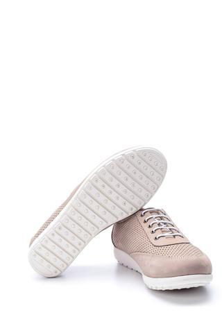 Kadın Deri Bağcıklı Ayakkabı