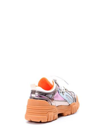 Kadın Parlak Sneaker