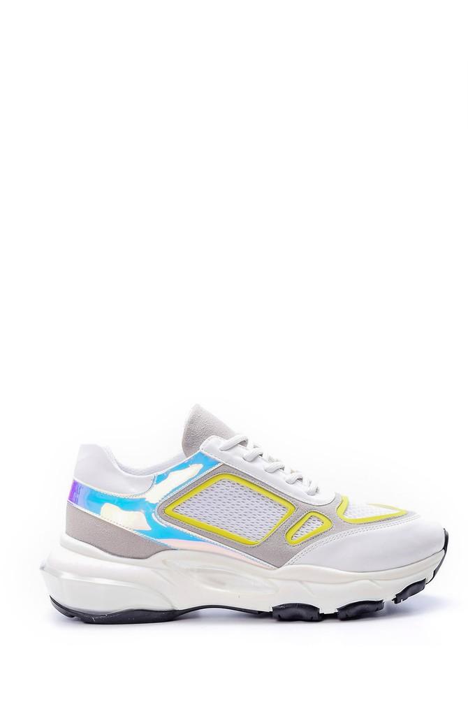 Beyaz Kadın Air Tabanlı Sneaker 5638062149
