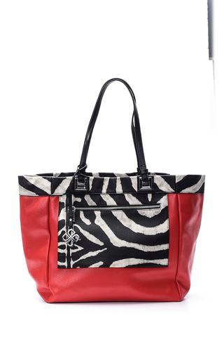 Kadın Zebra Desenli Çanta