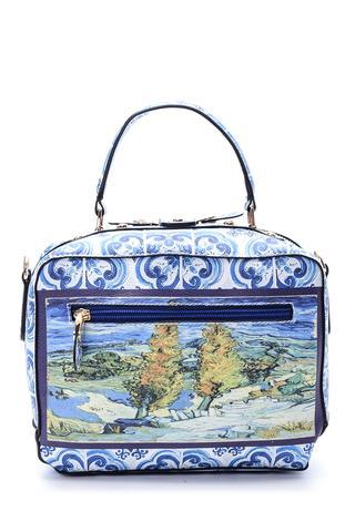 Kadın Desenli Çanta