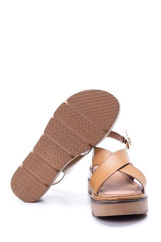 Kadın Dolgu Tabanlı Sandalet