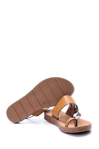 Kadın Kroko Detaylı Sandalet