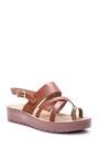 5638003746 Kadın Kroko Detaylı Sandalet
