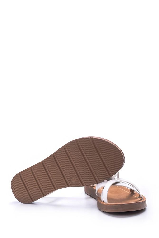 5638003673 Kadın Düz Sandalet