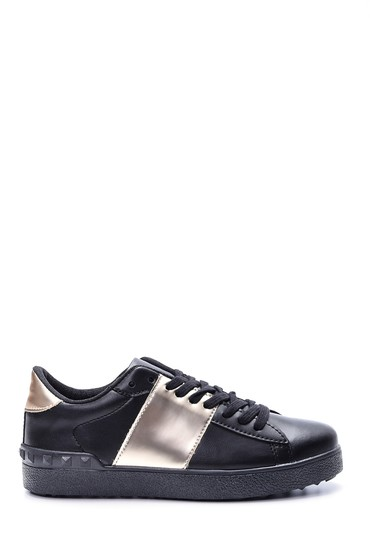 5638063505 Kadın Gold Detaylı Sneaker