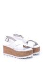 5638066014 Kadın Dolgu Topuklu Sandalet