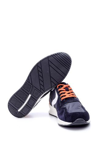Erkek Süet Detaylı Sneaker