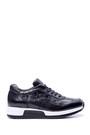 5638050743 Erkek Kroko Detaylı Sneaker