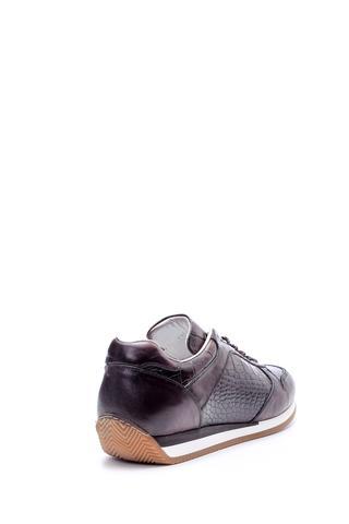 Erkek Kroko Detaylı Sneaker