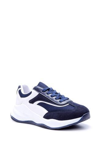 Erkek Yüksek Tabanlı Süet Sneaker