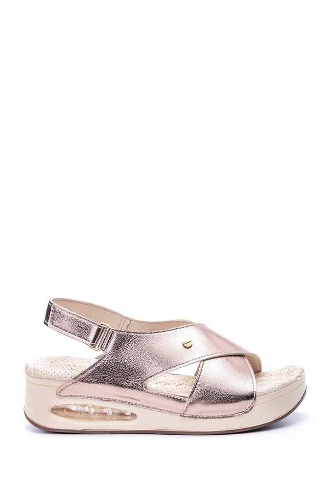 5638057887 Kadın Aır Tabanlı Comfort Sandalet