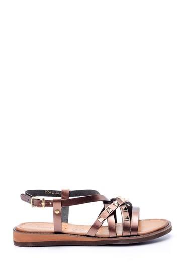 5638061881 Kadın Zımba Detaylı Sandalet