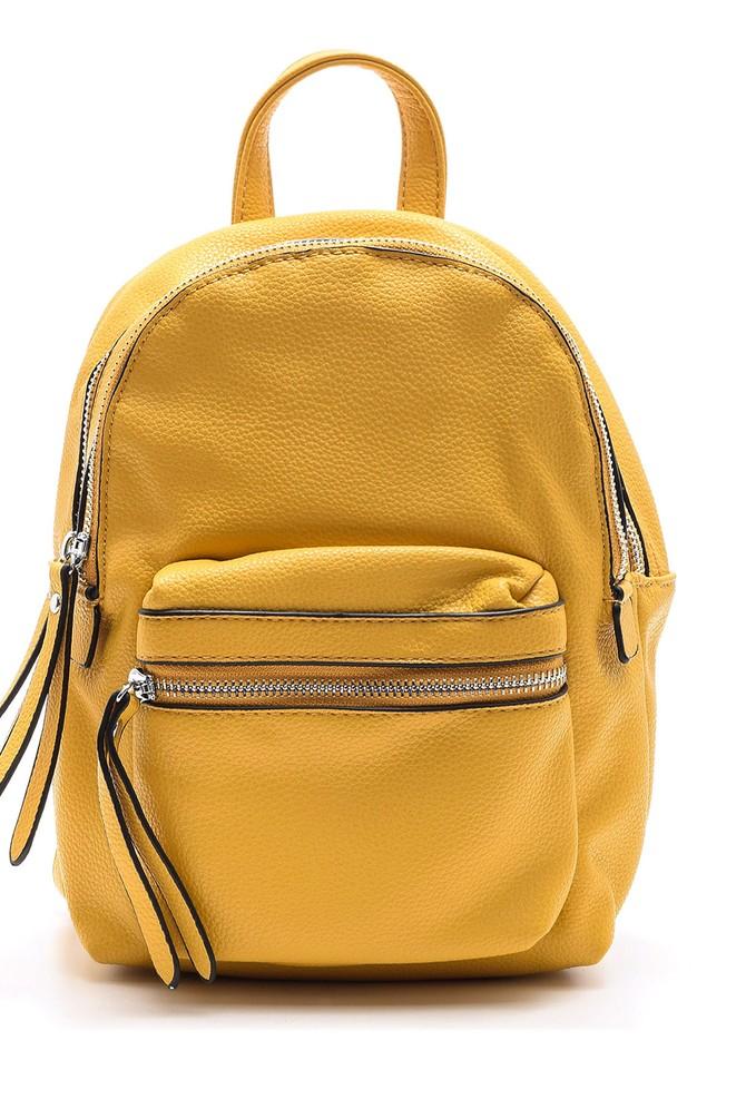 Sarı Kadın Sırt Çantası 5638031871