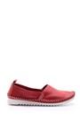 5638021771 Kadın Dikiş Detaylı Deri Loafer