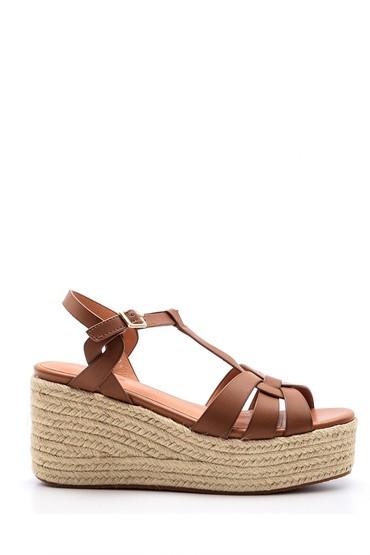 5638004488 Kadın Dolgu Topuklu Sandalet
