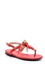 5638004409 Kadın Deniz Kabuğu Detaylı Sandalet
