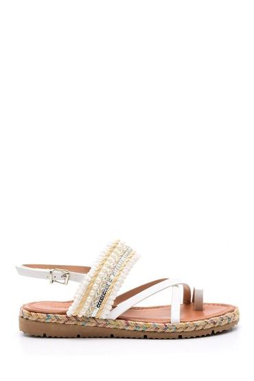 5638002460 Kadın İşlemeli Sandalet