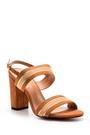 5638021364 Kadın Şeritli Topuklu Ayakkabı