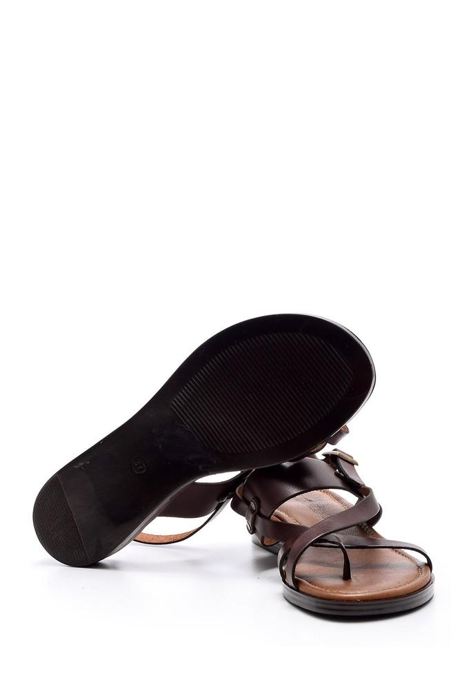 5638052951 Kadın Deri Sandalet