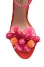 5638027375 Kadın Süet Metal Topuk Detaylı Ayakkabı