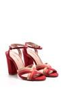 5638050881 Kadın Süet Deri Topuklu Ayakkabı