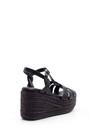 5638004490 Kadın Dolgu Topuklu Sandalet