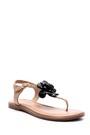 5638049290 Kadın Çiçek Detaylı Sandalet