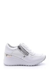5638095652 Kadın Fermuar Detaylı Sneaker