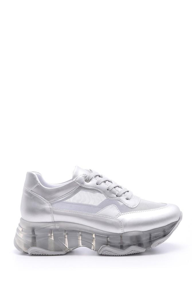 5638095669 Kadın Şeffaf Tabanlı Sneaker