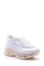 5638095678 Kadın Şeffaf Tabanlı Sneaker