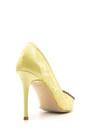 5638080760 Kadın Taş Detaylı Dantel Deri Stiletto