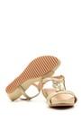 5638004471 Kadın Taşlı Dolgu Tabanlı Sandalet