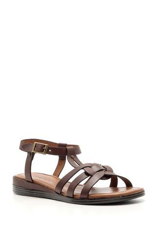 Kadın Deri Sandalet