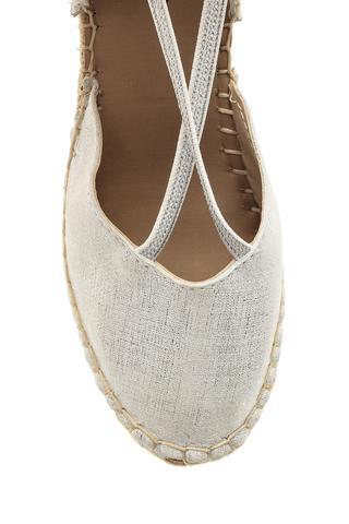 Kadın Dolgu Topuklu Espadril Ayakkabı