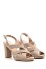 5638038919 Kadın Süet Topuklu Ayakkabı