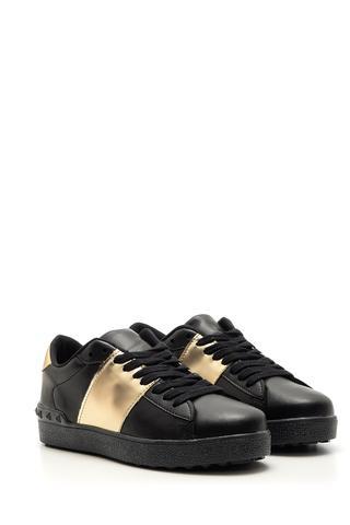 Kadın Gold Detaylı Sneaker